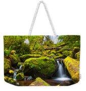 Upper Kentucky Falls - Autumn Weekender Tote Bag