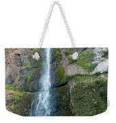 Upper Multnomah Falls Weekender Tote Bag