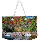 Upper Twin Falls Weekender Tote Bag