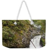 Upper Twin Falls Steps Weekender Tote Bag
