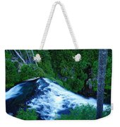 Upper View Of Narada Falls Weekender Tote Bag