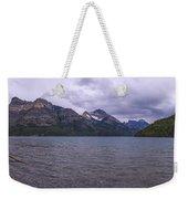 Upper Waterton Lake Weekender Tote Bag