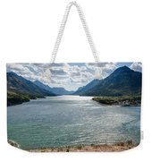 Upper Waterton Lake Weekender Tote Bag