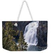 Upper Yellowstone Falls Weekender Tote Bag