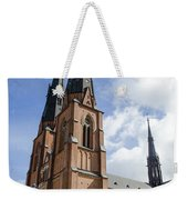 Uppsala Cathedral - Sweden Weekender Tote Bag