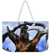 Uprooted Beauty Weekender Tote Bag by Shane Bechler