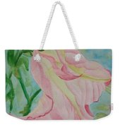 Upside Down Watercolor Weekender Tote Bag