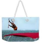 Upside Down World  Weekender Tote Bag