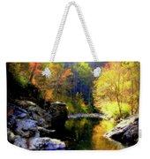 Upstream Weekender Tote Bag by Karen Wiles