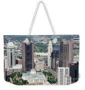 Uptown District Weekender Tote Bag