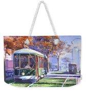 Streetcars Uptown New Orleans Weekender Tote Bag