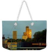 Uptown View Weekender Tote Bag