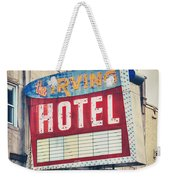 Chicago's Irving Hotel Weekender Tote Bag