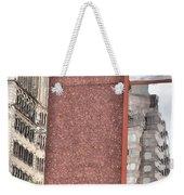 Urban Abstract Downtown Reflections Dayton Ohio Weekender Tote Bag