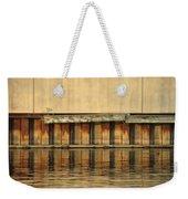 Urban Abstract River Reflections Weekender Tote Bag
