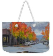 Urban Autumn Weekender Tote Bag