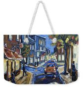 Urban Avenue By Prankearts Weekender Tote Bag by Richard T Pranke