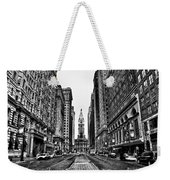 Urban Canyon - Philadelphia City Hall Weekender Tote Bag