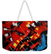 Urban Communication Weekender Tote Bag