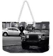 Urban Cowboy Weekender Tote Bag