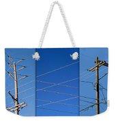 Urban Electric Weekender Tote Bag