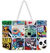 Urban Faces Weekender Tote Bag