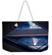 Urban Geometry Weekender Tote Bag