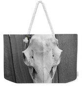 Urban Rustic Grey Weekender Tote Bag