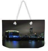 Urban Sapphire Weekender Tote Bag
