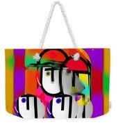 Urban Spaceman Weekender Tote Bag by Charles Stuart