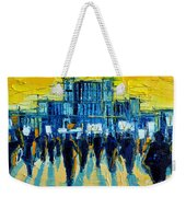 Urban Story - The Romanian Revolution Weekender Tote Bag