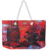 Urban Sunset Weekender Tote Bag