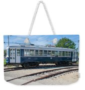Urban Transportation Weekender Tote Bag