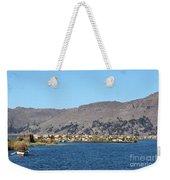 Uros Floating Island Village Weekender Tote Bag