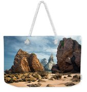 Ursa Beach Rocks Weekender Tote Bag