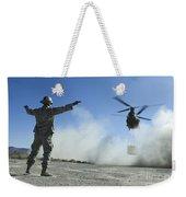 U.s. Air Force Master Sergeant Guides Weekender Tote Bag