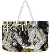 U.s. Army Europe Soldiers Perform Weekender Tote Bag