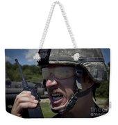 U.s. Army Sergeant Testing Weekender Tote Bag