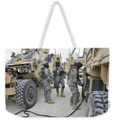 U.s. Army Soldiers Jump Start A Light Weekender Tote Bag