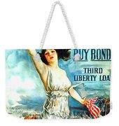 Fight Or Buy Bonds Weekender Tote Bag