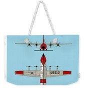 Coast Guard Hc-130 B Hercules Weekender Tote Bag