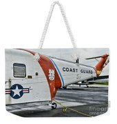Us Coast Guard Helicopter Weekender Tote Bag