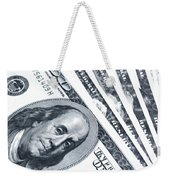 Us Dollar Bills  Weekender Tote Bag