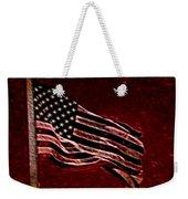 Us Flag Weekender Tote Bag
