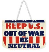 U.s. Isolationism, 1940s Weekender Tote Bag