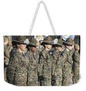 U.s. Marine Corps Female Drill Weekender Tote Bag