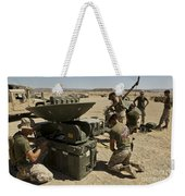 U.s. Marines Assemble A Support Wide Weekender Tote Bag