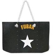 Us Military Fubar Weekender Tote Bag by Thomas Woolworth