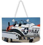 Us Navy Plane 001 Weekender Tote Bag