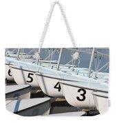 Us Navy Training Sailboats I Weekender Tote Bag